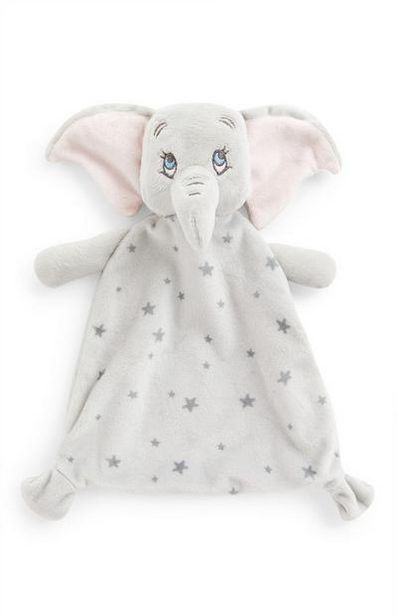 Aanbieding van Grijs Disney Dumbo baby knuffeldoekje voor 5€