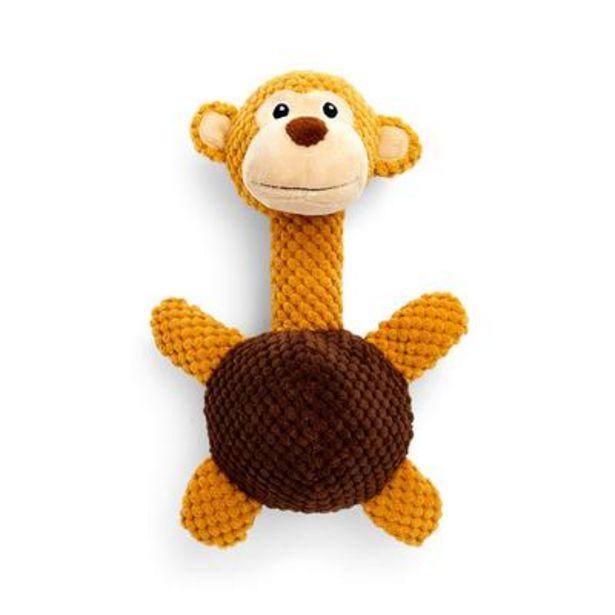 Aanbieding van Bruin aapje 3D-hondenspeelgoed voor 5€