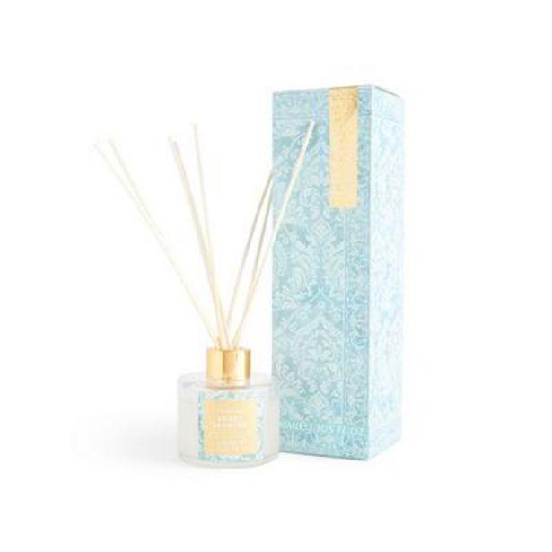 Aanbieding van Geurverspreider Sweet Jasmine met blauwe print, 100 ml voor 3,5€