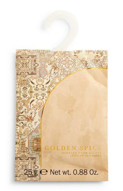 Aanbieding van Geurzakje met print Golden Spice voor 1€