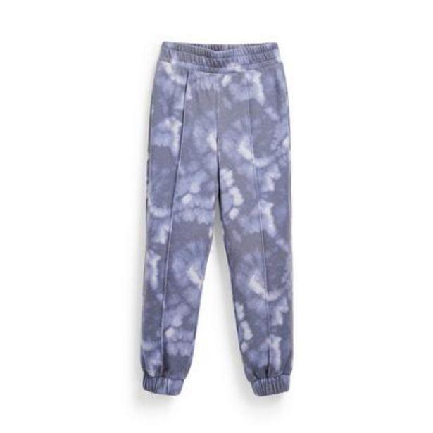 Aanbieding van Blauwe joggingbroek met tie-dye print voor meisjes voor 10€