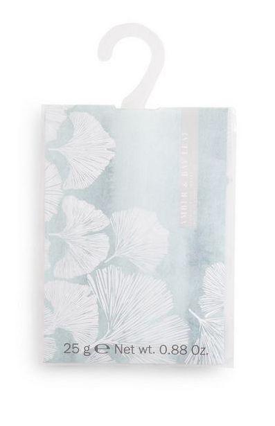 Aanbieding van Geursachet Amber Bay met print voor 1€