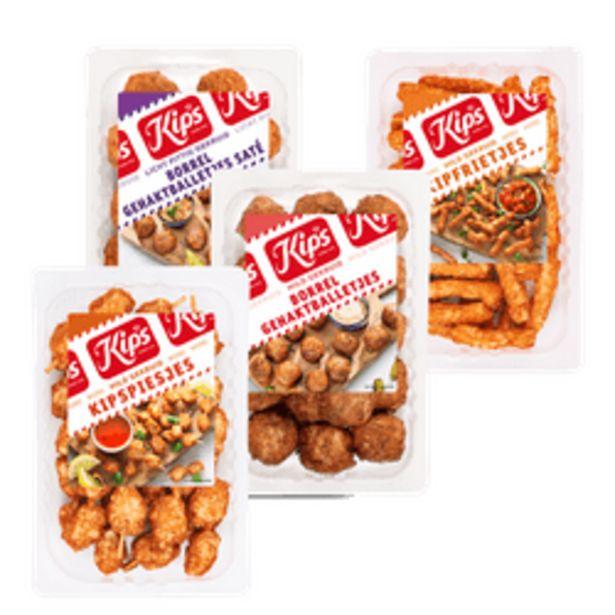 Aanbieding van Kips snacks of sliced chicken voor 2,99€
