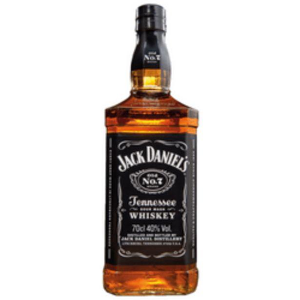 Aanbieding van Jack Daniel's Tenessee whiskey voor 19,99€