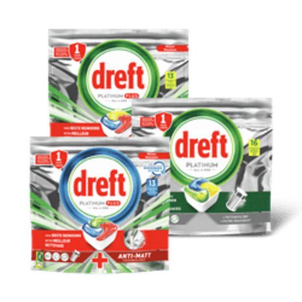 Aanbieding van Dreft vaatwastabletten voor 8,99€