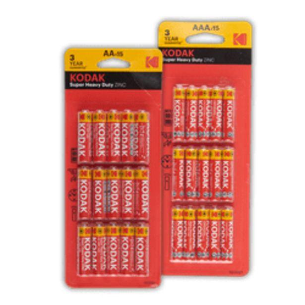 Aanbieding van Kodak batterijen voor 1,99€