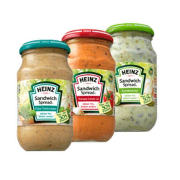 Aanbieding van Heinz sandwich spread voor 0,99€