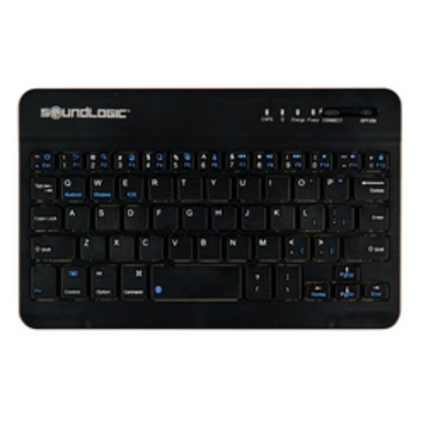 Aanbieding van Soundlogic draadloos toetsenbord voor 8,99€