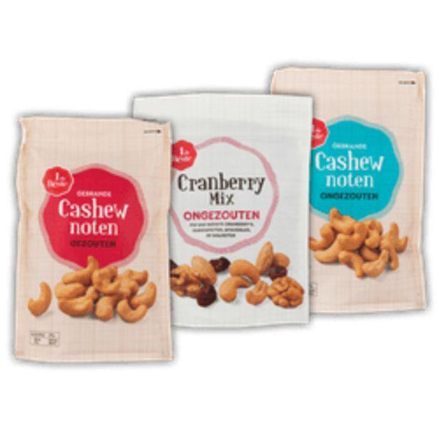 Aanbieding van 1 de Beste cashewnoten of cranberrymix voor 4,99€