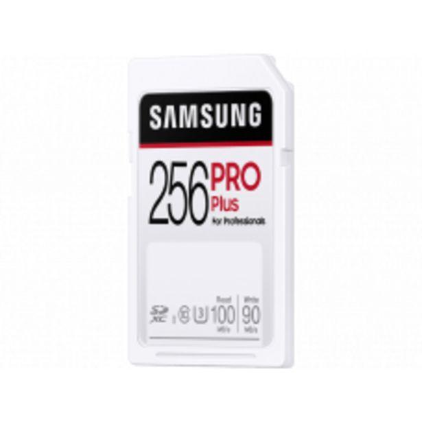 Aanbieding van SAMSUNG SD card Pro Plus 256GB voor 41,64€