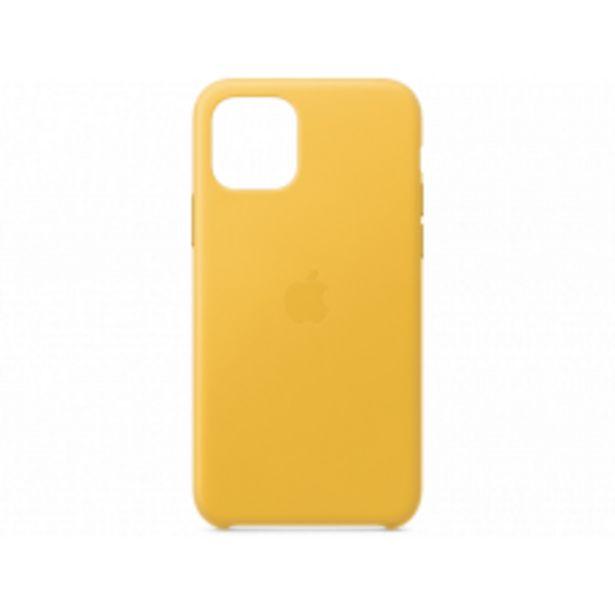 Aanbieding van APPLE iPhone 11 Pro Leather Case Geel voor 38,99€