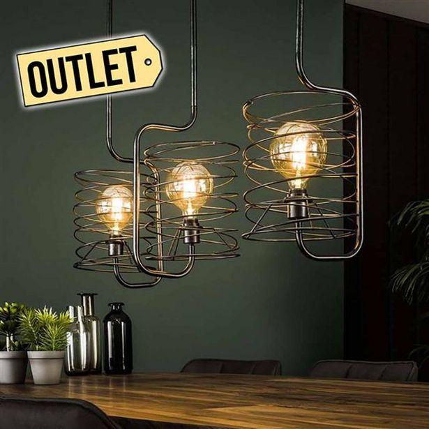 Aanbieding van Curl Hanglamp 3-lichts voor 119€