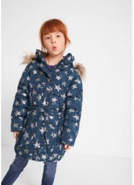 Aanbieding van Winterjas met sterrenprint voor 38,99€