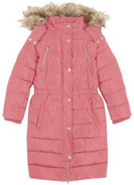 Aanbieding van Gewatteerde winterjas met afneembare capuchon voor 47,99€