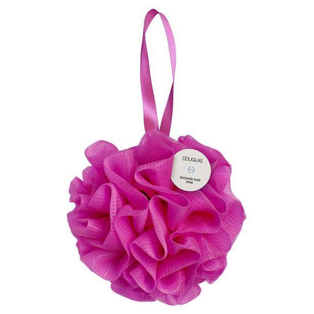 Aanbieding van Pink Shower Puff voor 2,99€