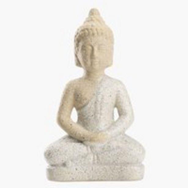 Aanbieding van Beeldje THYGE B12xL7xH21cm buddha voor 3€