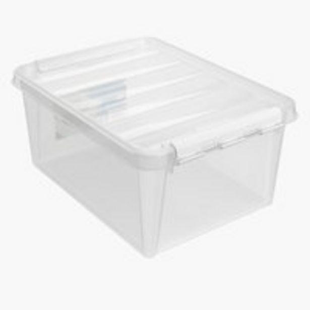 Aanbieding van Opbergbox SMARTSTORE classic 15 m/deksel voor 6,3€