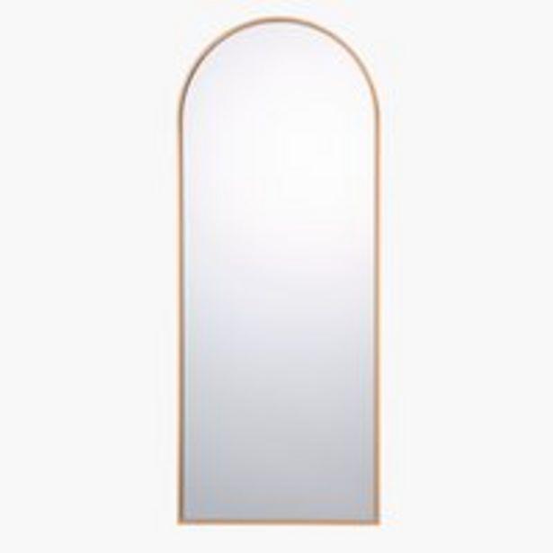 Aanbieding van Spiegel NORS 40x100 goud voor 49,99€