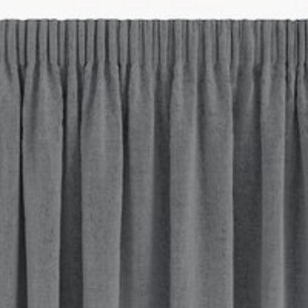 Aanbieding van Gordijn ALDRA 1x140x300 verduister grijs voor 27,5€
