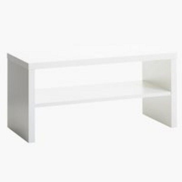 Aanbieding van TV-meubel KAGSTRUP wit voor 20€