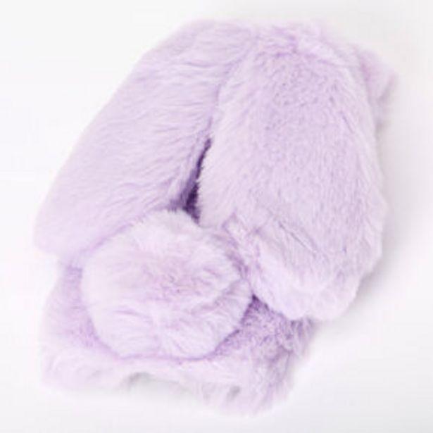 Aanbieding van Purple Fur Bunny Phone Case - Fits iPhone 6/7/8/SE voor 6€