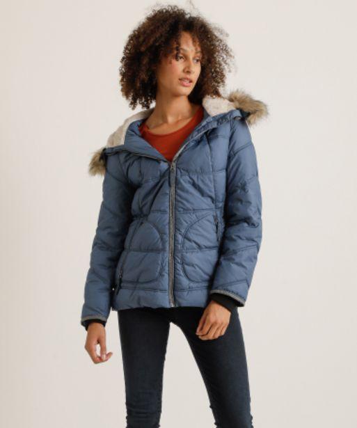 Aanbieding van Winterjas met nepbont voor 63,99€