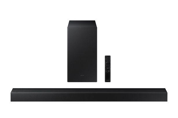 Aanbieding van Samsung ESSENTIAL A SERIES SOUNDBAR HW A450 (2021) voor 199€