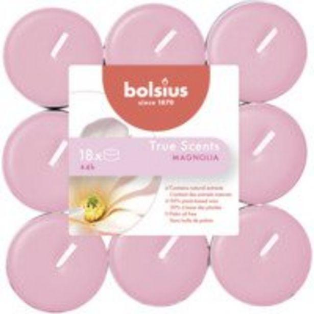 Aanbieding van Bolsius Geur theelichten true scents magnolia voor 1,67€