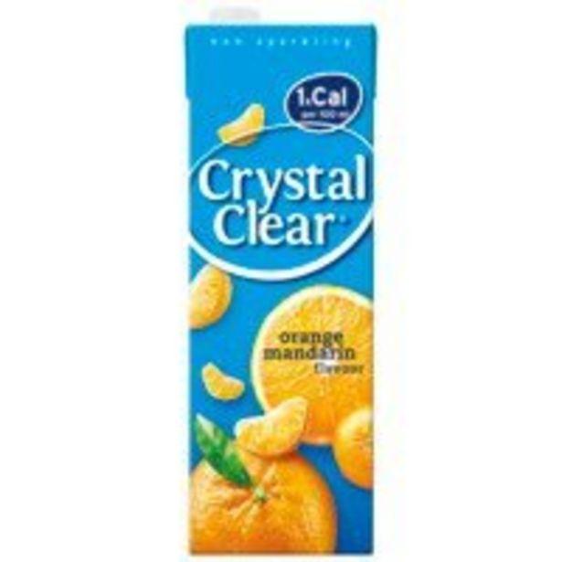 Aanbieding van Crystal Clear Orange mandarin pak voor 1,55€