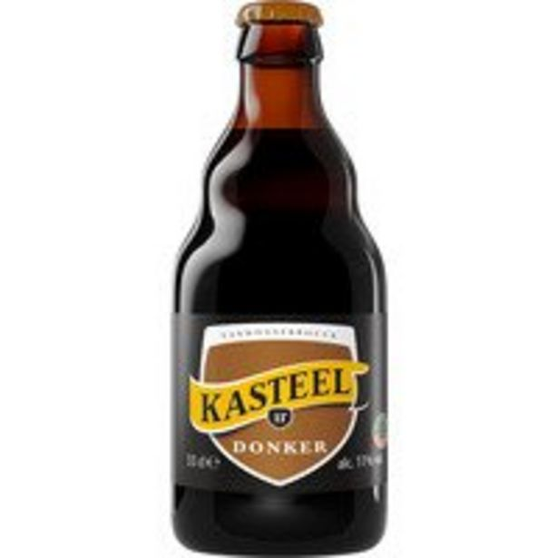 Aanbieding van Kasteelbier Bruin voor 1,35€