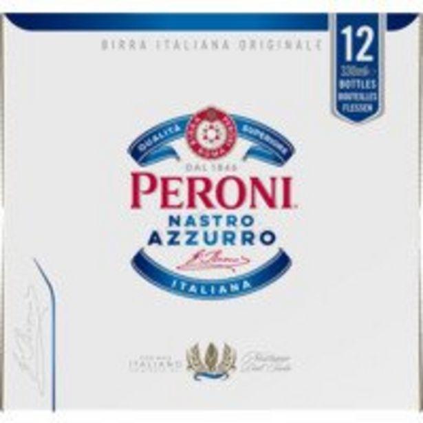 Aanbieding van Peroni Nastro azzurro voor 8,96€