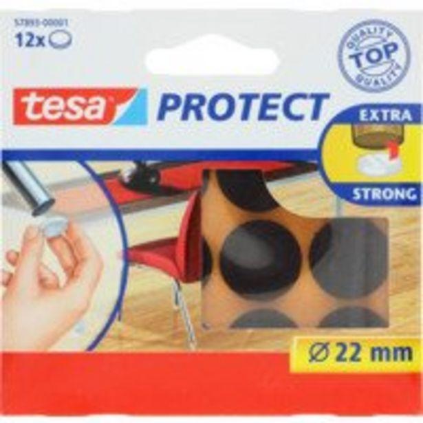 Aanbieding van Tesa Anti-krasviltjes 22mm bruin voor 2,99€