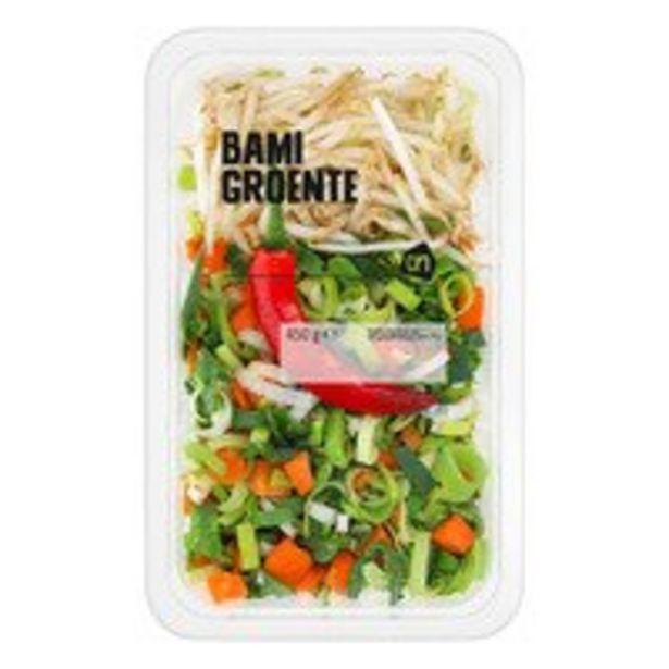 Aanbieding van AH Bami groente voor 1,5€