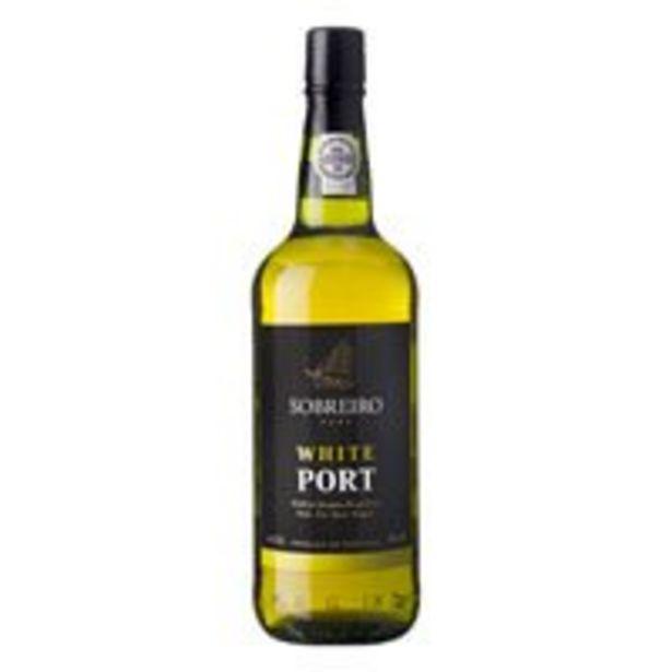 Aanbieding van Sobreiro Port white voor 4,79€