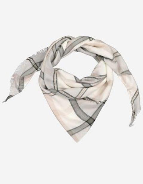 Aanbieding van Dames Sjaal - Ruiten motief voor 9,99€