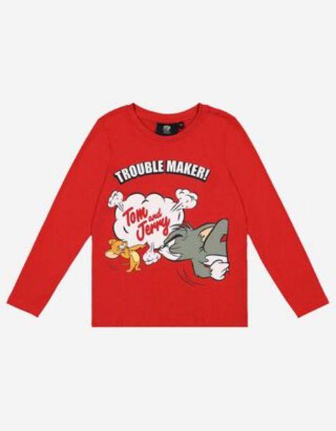 Aanbieding van Jongens Lange mouw - Tom en Jerry voor 7,99€