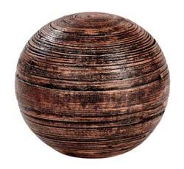 Aanbieding van KYO Decobal bruin Ø 12 cm voor 3,5€