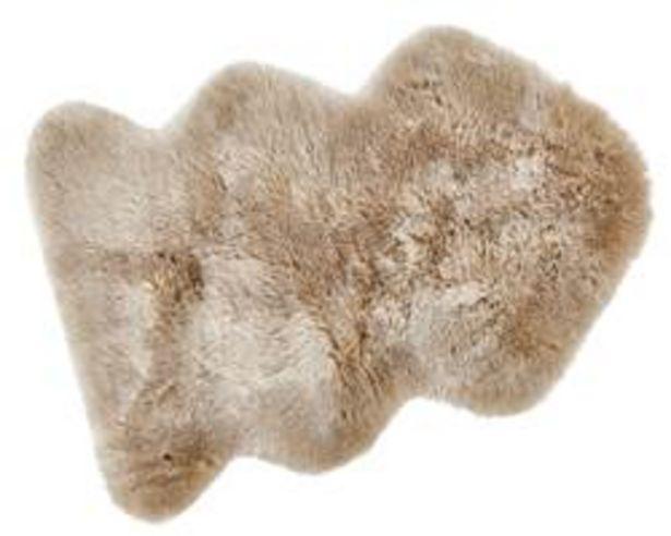 Aanbieding van FUR MIX Mat beige B 60 x L 90 cm voor 20,96€