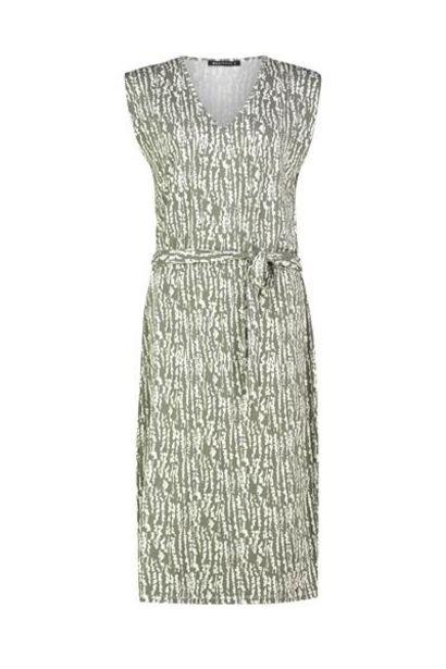 Aanbieding van Mouwloze jurk met print voor 54,98€