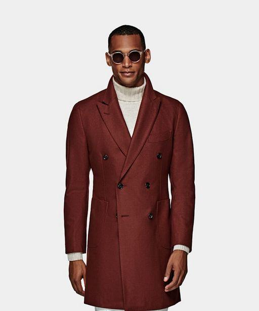Aanbieding van Dark Red Overcoat voor 399€