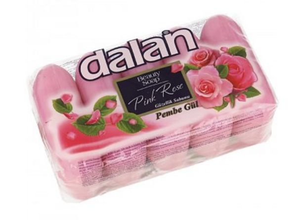 Aanbieding van DALAN ZEEP ROSE 5X70GR voor 1,5€