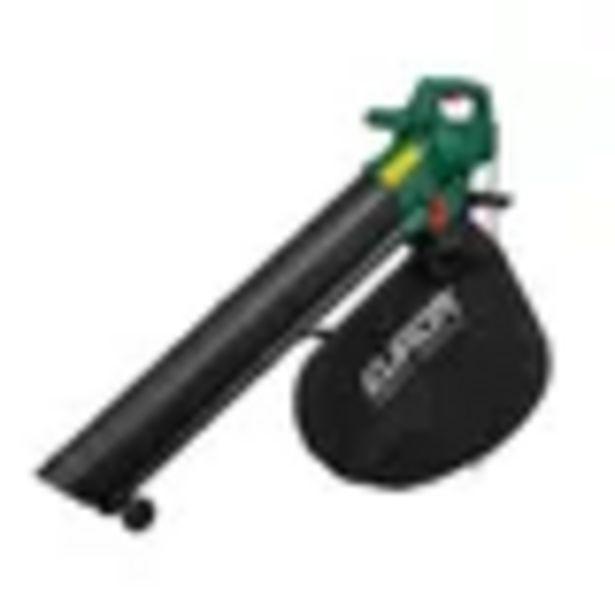 Aanbieding van Eurom elektrische bladblazer Gardencleaner 3000W voor 29,99€