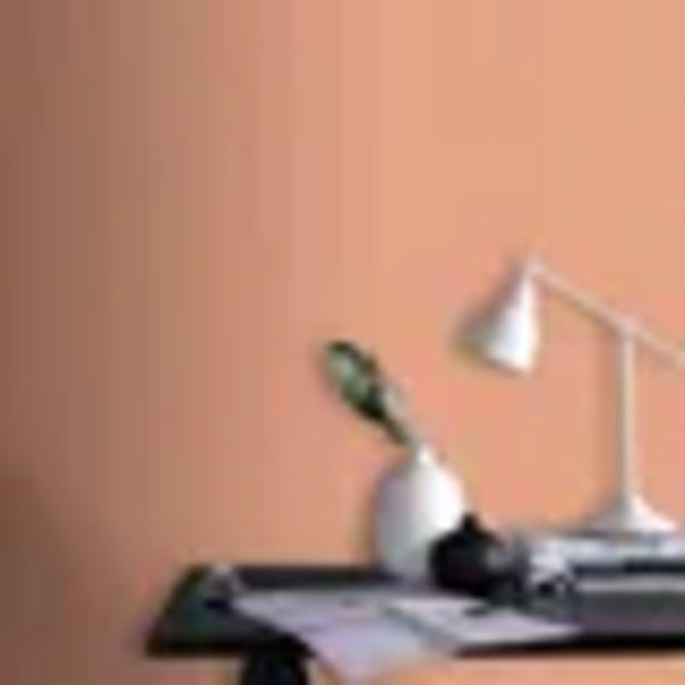 Aanbieding van Decomode vliesbehang Basic cotton terracotta voor 9,74€