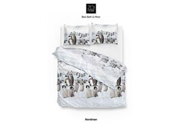 Aanbieding van Zo!Home Nordman Dekbedovertrek White voor 19,98€