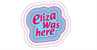 Logo Eliza was here